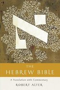 The Hebrew Bible: A Translation With Commentary (3 Vols) Hardback