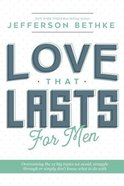 12 Essential Way to a Love That Lasts: For Men (Workbook) Paperback
