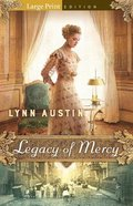 Legacy of Mercy (Large Print) Paperback