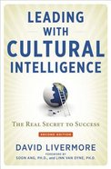 Leading With Cultural Intelligence (Second Edition) Hardback