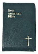 Nab Saint Joseph Personal Size Bible Green Zipper