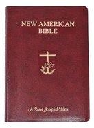Nab St. Joseph New American Bible Giant Print Burgundy