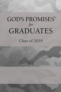 God's Promises For Graduates: Class of 2019 - Silver Camouflage (Niv) Hardback