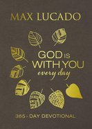 God is With You Every Day (Large Print) Imitation Leather