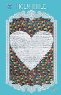 ICB Sequin Sparkle and Change Bible Rainbow Hardback