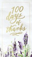 100 Days of Thanks Hardback