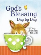 God's Blessing Day By Day: My Daily Devotional For Kids Hardback