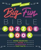 Big Fun Bible Puzzle Book Paperback