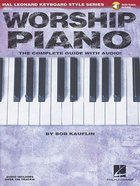Worship Piano: Hal Leonard Keyboard Style Series (Music Book) (Includes Online Audio) Paperback