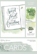 Boxed Cards Blank: Spirit of the Lord, 15 Cards and Envelopes, 3 Designs Box