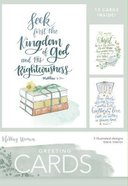 Boxed Cards Blank: Kingdom of God, 15 Cards and Envelopes, 3 Designs
