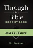 Genesis to Esther (#01 in Through The Bibles Series) Paperback