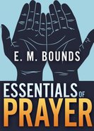 Essentials of Prayer Paperback