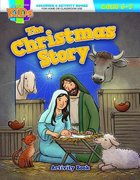 The Christmas Story (Ages 5-7, Reproducible) (Warner Press Colouring & Activity Books Series)