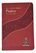 New Catholic Version Psalms Burgundy