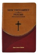 New Catholic Version New Testament and Psalms Vest Pocket Brown