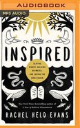 Inspired: Slaying Giants, Walking on Water, and Loving the Bible Again (Unabridged, Mp3) CD