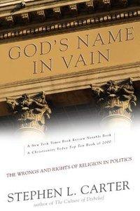 Gods Name in Vain