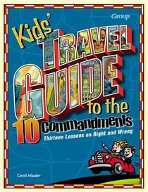 Kids Travel Guide to the 10 Commandments