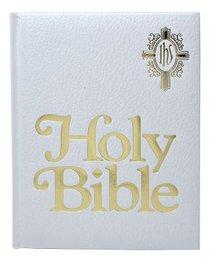Nab Catholic Family Bible, the White