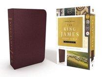 KJV Study Bible Burgundy Full-Color Edition (Red Letter Edition)