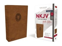 NKJV Thinline Bible Youth Edition Brown (Red Letter Edition)