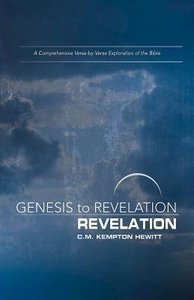 Revelation : A Comprehensive Verse-By-Verse Exploration of the Bible (Participant Book) (Genesis To Revelation Series)