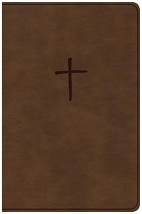 CSB Compact Bible Brown Value Edition (Red Letter Edition)