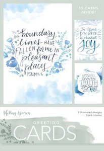 Boxed Cards Blank: Pleasent Places, 15 Cards and Envelopes, 3 Designs