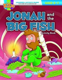 Jonah and the Big Fish (Ages 5-7, Reproducible) (Warner Press Colouring & Activity Books Series)