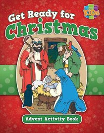 Activity Book: Get Ready For Christmas! Advent Activity Book (Niv/nirv)