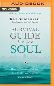 Survival Guide For the Soul: How to Flourish Spiritually in a World That Pressures Us to Achieve (Unabridged, Mp3)