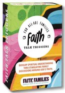 Faith Talk Triggers: For All-Age Families (40 Topic Cards) Box