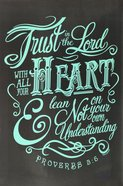 Poster Large: Trust in the Lord Poster