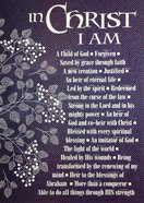 Poster Large: In Christ I Am