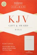 KJV Gift Award Bible White Imitation Leather
