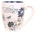 Mark My Words Ceramic Mug: Blessing