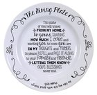 Ceramic Giving Plate: He Fills My Life With Good Things...Psalms 103:5 Homeware
