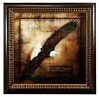 Framed Art Print: Wings Like Eagles Plaque
