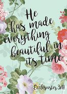 Poster Large: Everything Beautiful - Ecc 3:11 Poster
