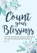 Poster Large: Count Your Blessings Poster