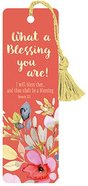 Bookmark With Tassel: What a Blessing You Are Stationery