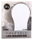 Foldable Led Magnifier With 3x Magnification, Screen Size 4.5cm Stationery