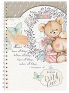 Spiral Softcover Journal: Teddy Love Bears All Things Spiral