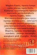 For You in Hospital (Warlpiri) Booklet