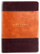 KJV Study Bible Brown Full-Color Edition (Red Letter Edition)