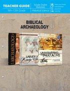 Biblical Archaeology (Teacher Guide) Paperback