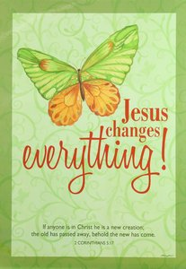 Poster Large: Jesus Changes Everything!