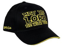 Cap: May the Lord Be With You Navy/Gold