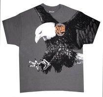 T-Shirt Eagle: Xlarge Grey (Isaiah 40:31)